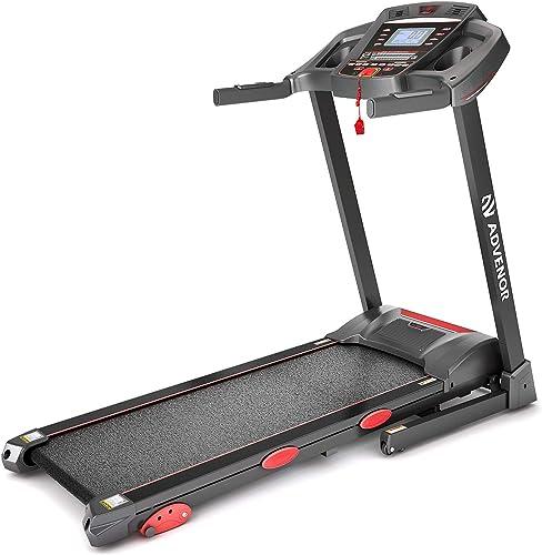 ADVENOR Treadmill Motorized Treadmills 3.0 HP Electric Running Machine Folding Exercise Incline Fitness Indoor 64 Pre...