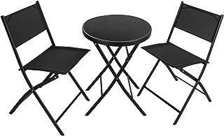 TecTake 402936 Salon De Jardin 2 Chaises Et 1 Table