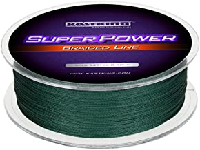 KastKing SuperPower Braided Fishing Line – Abrasion Resistant Braided Lines –..