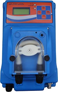 Bomba dosificadora peristáltica con dosificación proporcional a la medida del pH o Rx (ORP) modelo MP-PRO PH/RX - 3 l/h 230 Vac, tubo membrana santopreno para dosis ácido o cloro