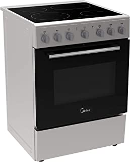 Midea 60 X 60 cm Cerami Cooker with Full Safety, Silver - VC6814, 1 Year Warranty