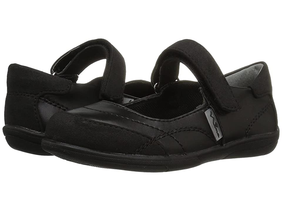 Nina Kids Alannah (Toddler/Little Kid/Big Kid) (Black) Girls Shoes