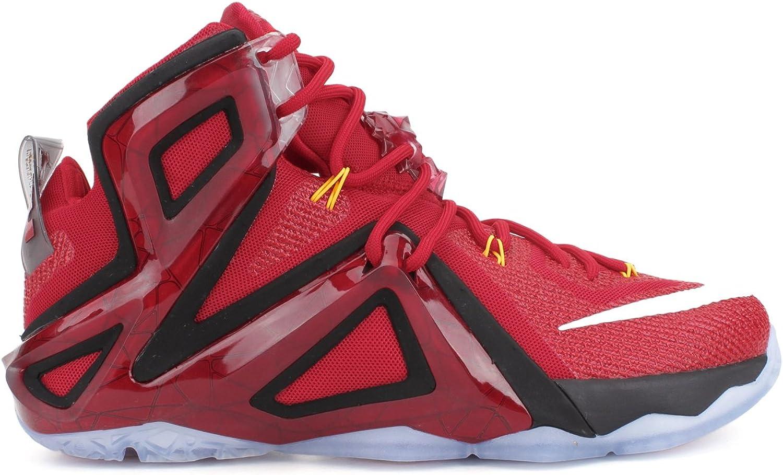 Nike Lebron XII. Elite Herren Hi Top Basketball Trainer 724559Turnschuhe Schuhe