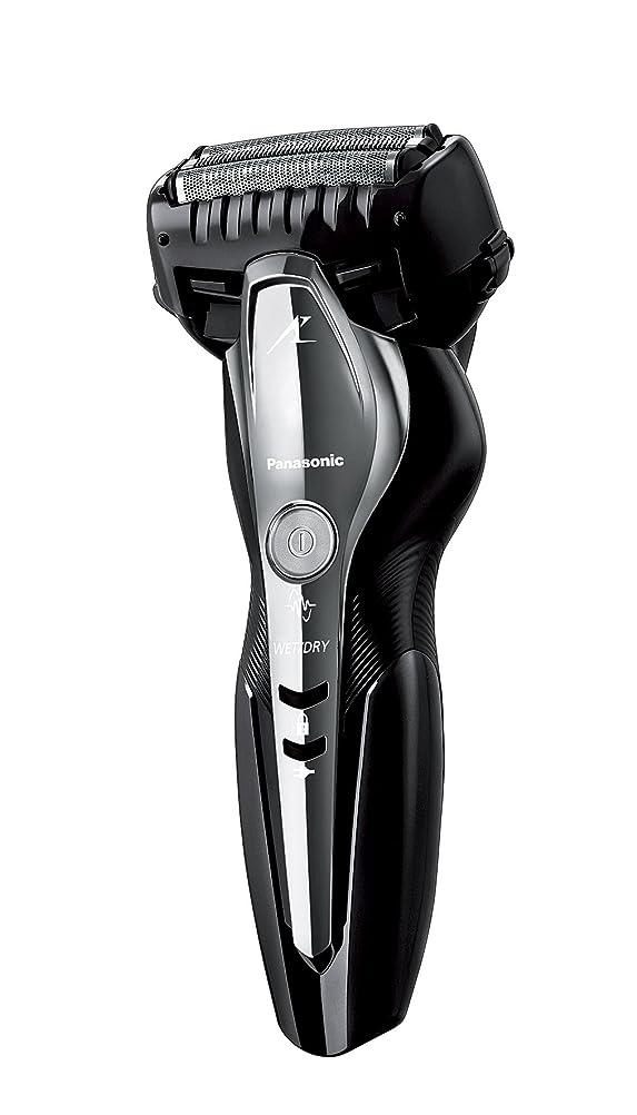オーロック緊急契約パナソニック ラムダッシュ メンズシェーバー 3枚刃 お風呂剃り可 黒 ES-ST2N-K