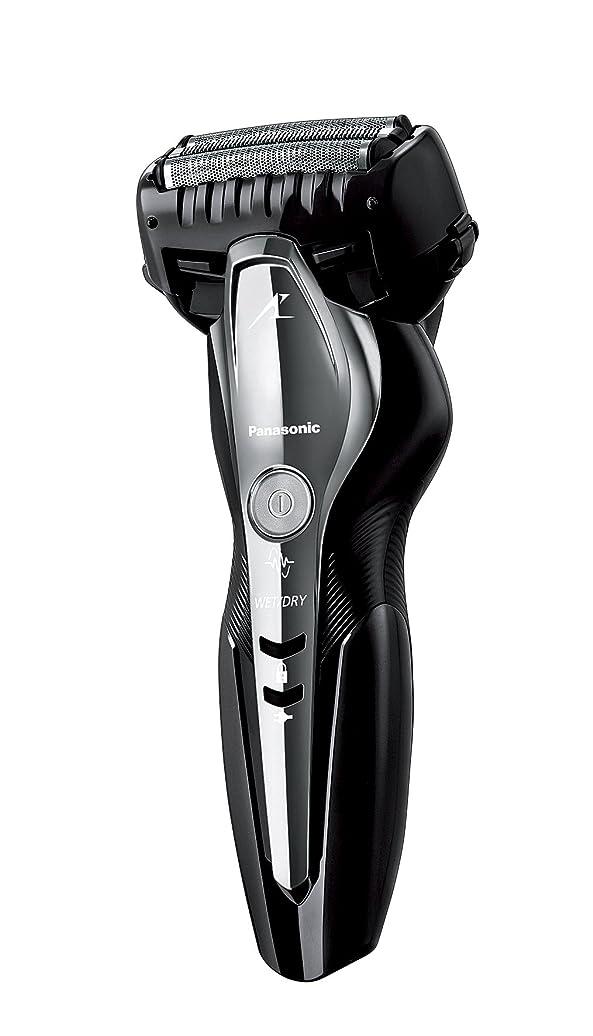うんざりとても平行パナソニック ラムダッシュ メンズシェーバー 3枚刃 お風呂剃り可 黒 ES-ST2N-K