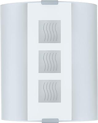 Eglo 83134lámpara de pared, metal, E27, color blanco