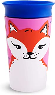 Munchkin Miracle 360 WildLove Sippy Cup, 9 Oz, Red Fox