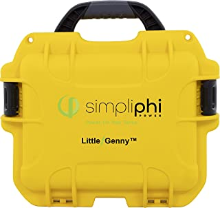 SimpliPhi Little Genny Fuel-Free Safe Lithium ion Portable Emergency Backup and Remote Power Generator with Solar Panel