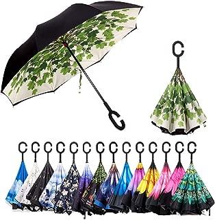 Best clear reversible umbrella Reviews