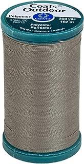 Coats Outdoor Living Thread, 200-Yard, Steel