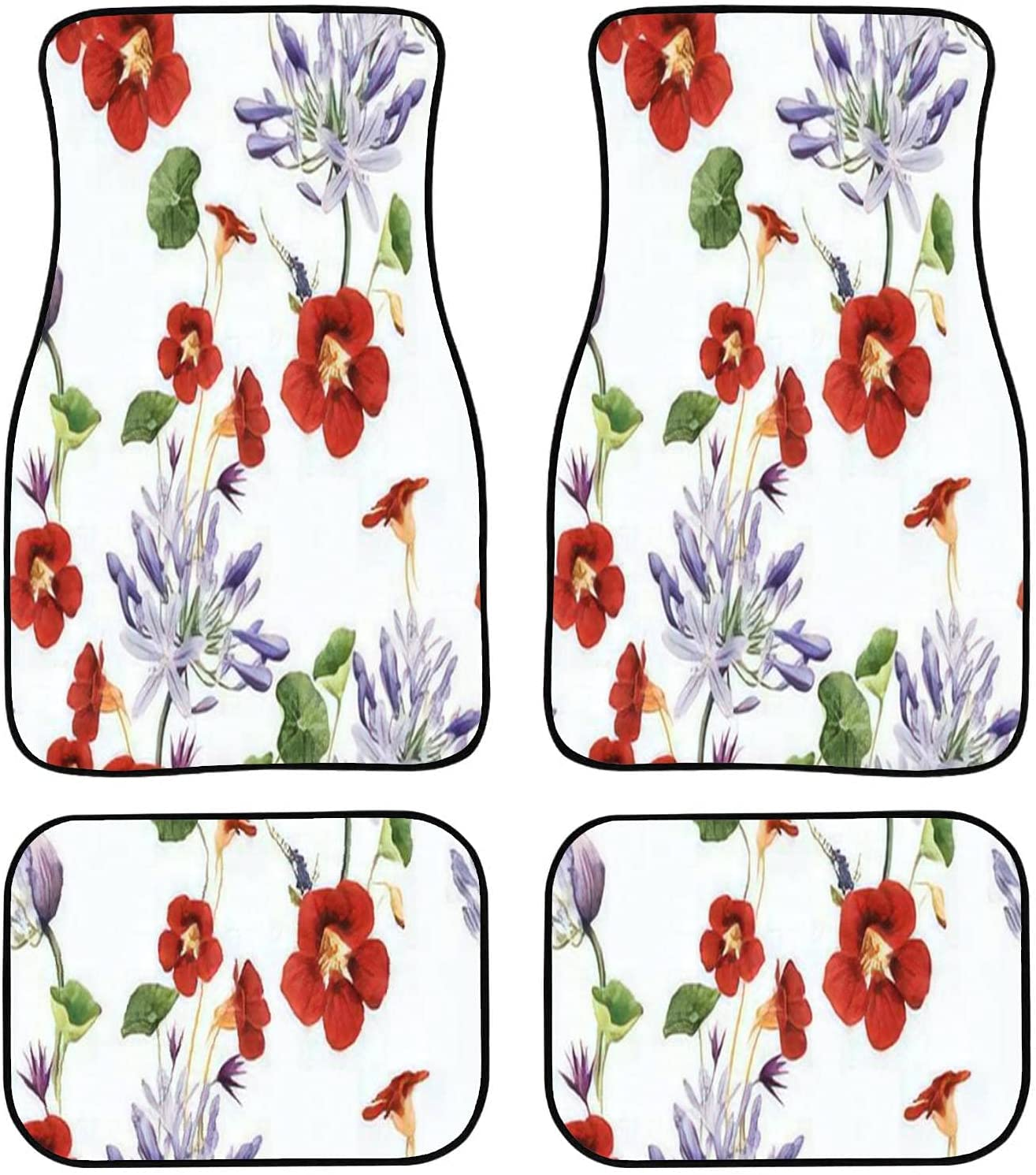 OBIEORNNCFUJ Car Floor Mats Department store - Sales of SALE items from new works Floral Flowe Seamless Pattern with