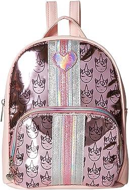 Hologram Unicorn Icon Print Mini Backpack