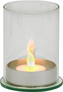 Biedermann & Sons Glass Tealight Holders (Box of 6), Clear