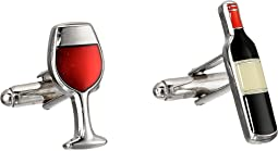 Wine and Bottle Cufflinks