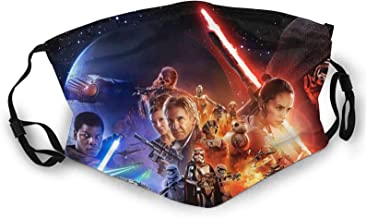 Dophnison Star Wars 3D Animation, Mask, Very Soft and Breathable, Suitable for Men and Women