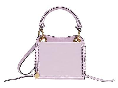 See by Chloe Tilda Mini Crossbody Cross Suede (Lavender Mist) Cross Body Handbags