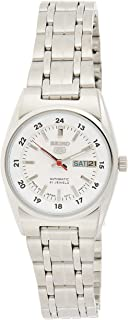 SEIKO Women's Automatic Watch, Analog Display and Stainless Steel Strap SYMB93J1