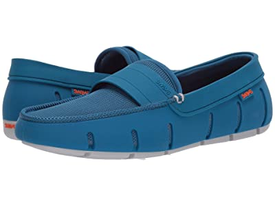 SWIMS Stride Single Band Keeper (Seaport Blue/Alloy) Men