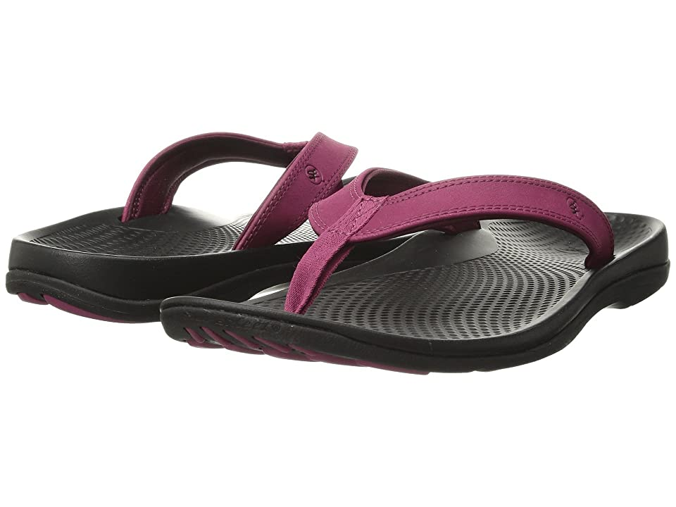 Superfeet Outside Sandal 2 (Sangria/Black) Women