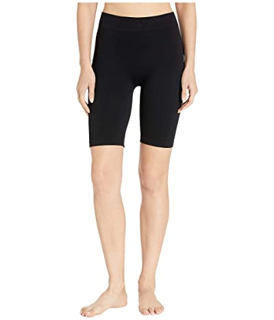 Free People Seamless Bike Shorts (Black) Women