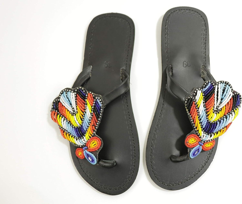 Women's Masai 100% Leather Sandals