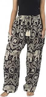 Women's Elephant Hippie Boho Yoga Harem Pants