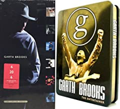 Two Kinds of Country Video & Audio Garth Brooks Collection The Entertainer DVD Exclusive Edition Tin & Limited Series CD Set Greatest Hits
