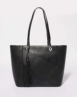 Black Alice Panel Tote Bag