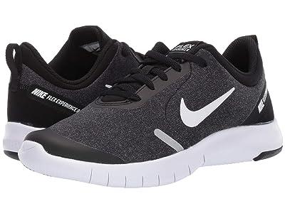 Nike Kids Flex Experience RN 8 (Big Kid) (Black/White/Cool Grey/Reflect Silver) Boys Shoes