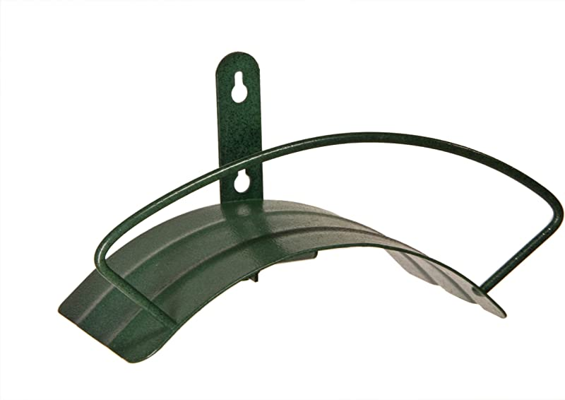 Yard Butler Deluxe Heavy Duty Wall Mount Hose Hanger Easily Holds 100 Of 5 8 Hose Solid Steel Extra Bracing And Patented Design In NEW COLORS And DECORATIVE DESIGNS IHCWM 1 Textured Forest Green