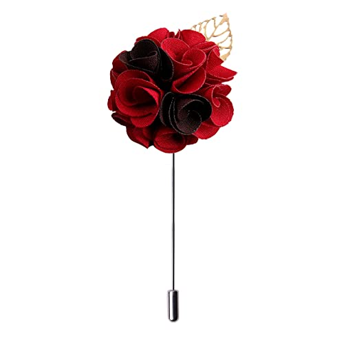 9f6c94f81c8 Peluche Exotic Delight - Multicolored Brass Floral Brooch/Lapel Pin |  GenuineFor Men | Genuine