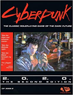 Cyberpunk 2.0.2.0 RPG Core Rulebook 2nd Edition (2020), inglés.