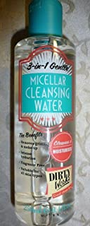 DIRTY WORKS~~3 IN 1 GENTLE~~MICELLAR CLEANSING WATER~~ALL SKIN TYPES 8.4 OZ by Dirty Works