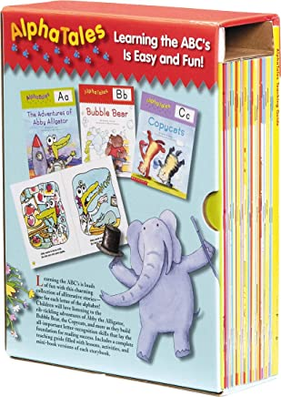 Alphatales Box Set: A Set of 26 Irresistible Animal Storybooks That Build Phonemic Awareness & Teach Each Letter of the Alphabet [With Teacher's Guide
