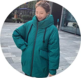 Surprise S Women Mid Long Jackets Coat Thicken Warm Parkas Coat Solid Winter Sintepon Jacket