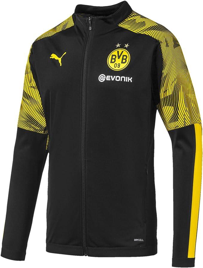 Puma Borussia Dortmund BVB Poly Jacket with Evonik Logo, Giacca Tuta Uomo