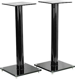 VIVO Premium Universal 23 inch Floor Speaker Stands for Surround Sound and Book Shelf Speakers (STAND-SP02B)