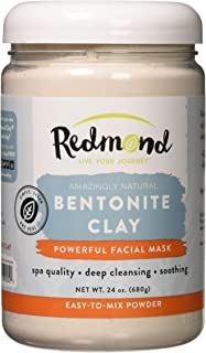 Redmond Clay Bentonite Clay Healing Clay Facial Mask, 680 Grams