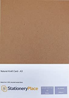 A2 Kraft Card