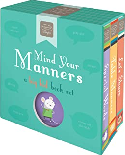 Bendon Mind Your Manners, Kathy Ireland, A Big Kid Learning Activity 3-Book Set Learning Toy