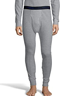 Hanes Men's Ultimate Thermal Pant with FreshIQ, X-Temp Technology & Organic Cotton