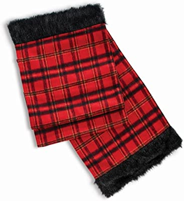 Napa Home & Garden Plaid & Faux Fur 72