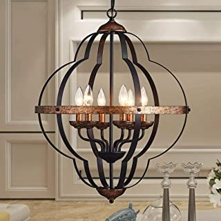 Best wrought iron foyer chandelier Reviews