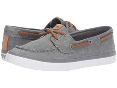 Sperry Sailor Boat Canvas (Grey) Women