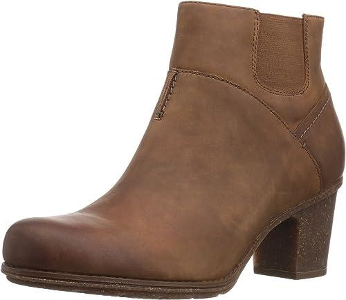 Clarks Femmes Bottes Couleur Couleur Marron Dark Tan Leather Taille 41.5 EU   10 Us  avec 100% de qualité et 100% de service
