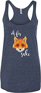 Women's Funny Graphic Tank Top | Oh for Fox Sake