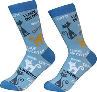 I Love My Cat Breed Socks Unisex Sock Daddy by E&S Pets
