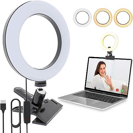 Video Conference Lighting Kit Vijim Macbook Videokonferenzbeleuchtung Für Remote Arbeiten Laptop Beleuchtung Für Videokonferenzen Zoom Anrufe Selbstübertragung Live Streaming Küche Haushalt