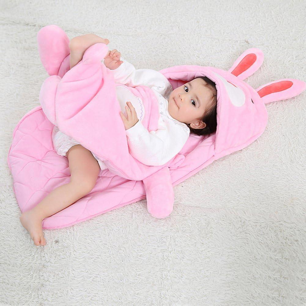 per neonati Tonwhar Sacco a pelo per bambini con animali da 0 a 2 anni