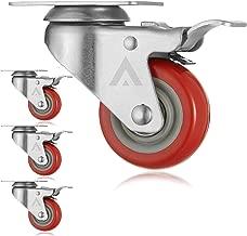 AmeriGrip (Set of 4)Swivel Casters with Locking Brakes - Heavy Duty 3